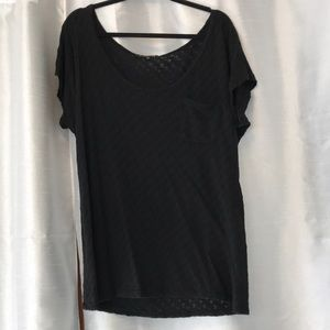 Black Top made light weight and comfortable.